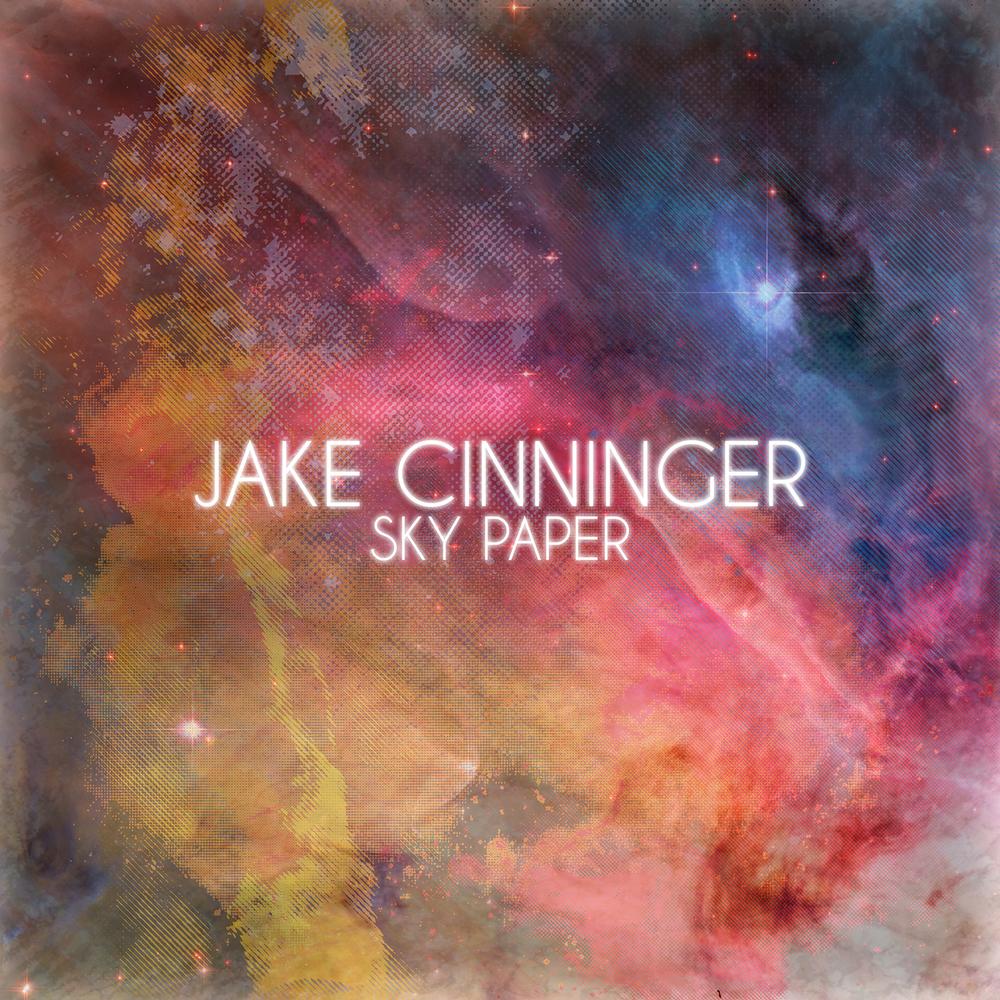 """Jake Cinninger """"Sky Paper"""" EP Cover"""
