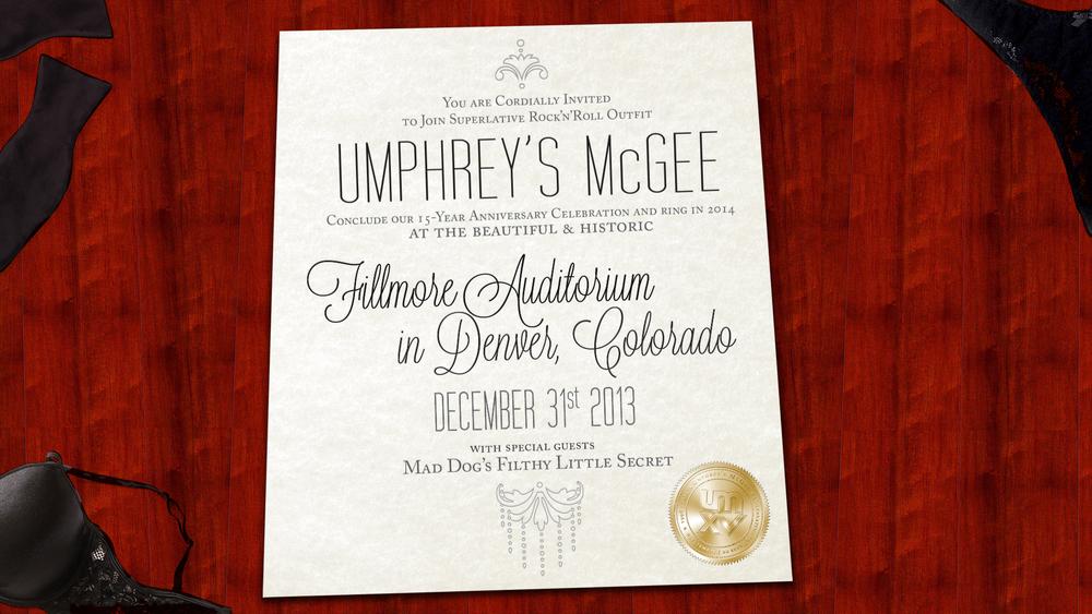 Umphrey's McGee NYE 16x9