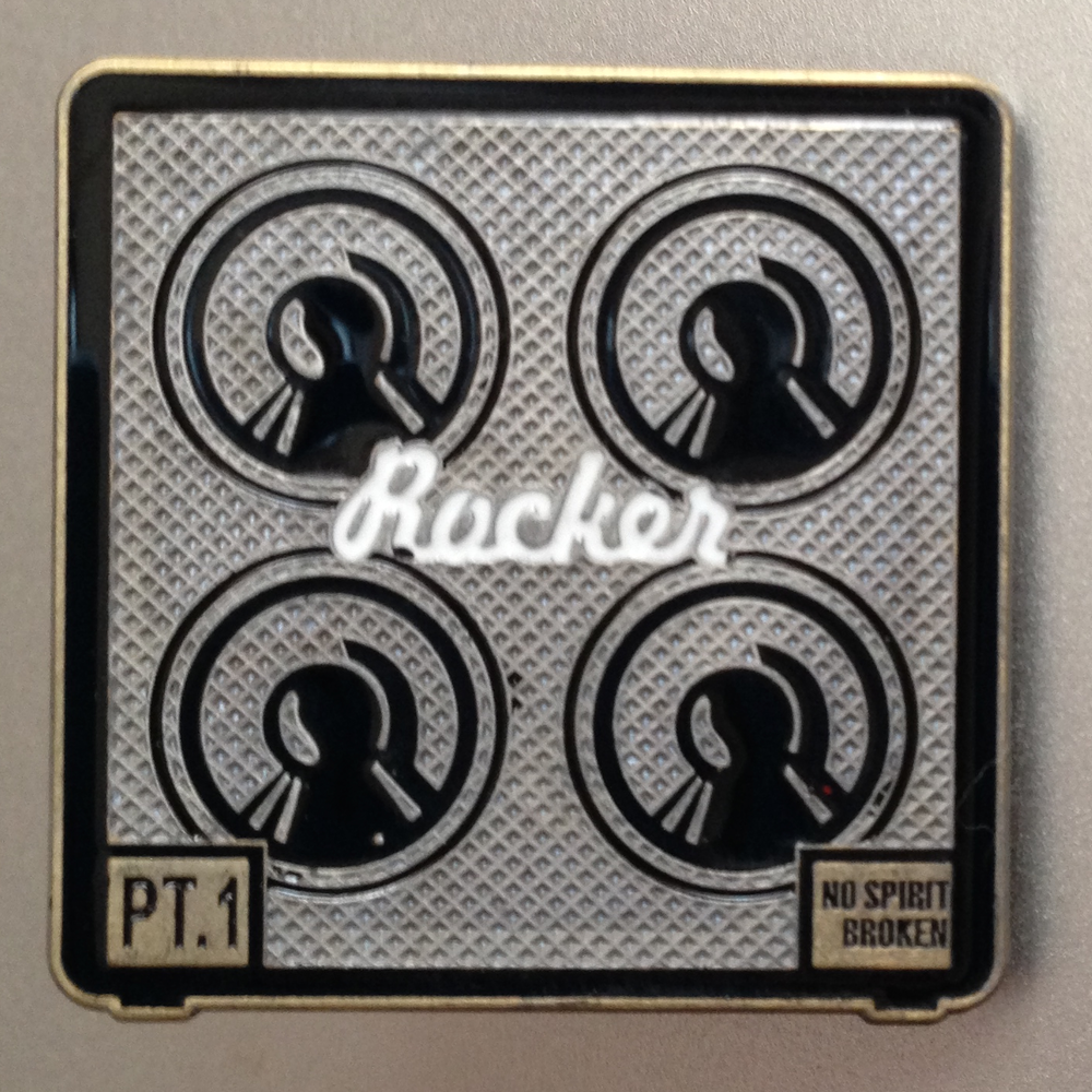 Rocker Pt. 1 Guitar Cabinet