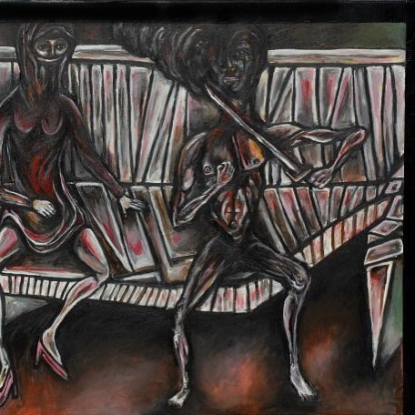 Oil on canvas #painting #contemporaryart #modernart #acreativedc #portrait #acrylicpainting #dailyart