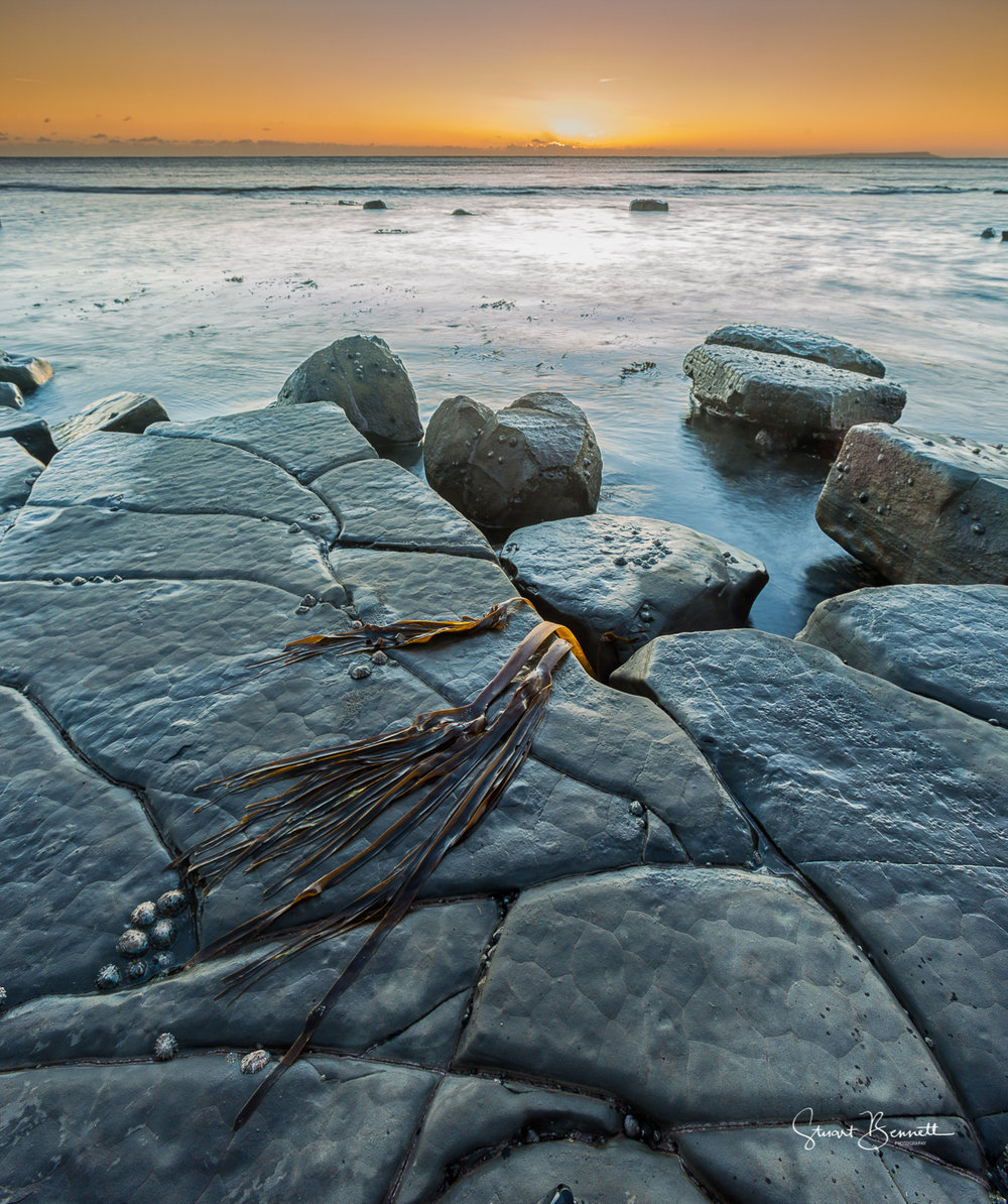 Kimmeridge Sunset.JPG