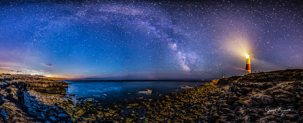 Portland Bill and the Milky Way.JPG