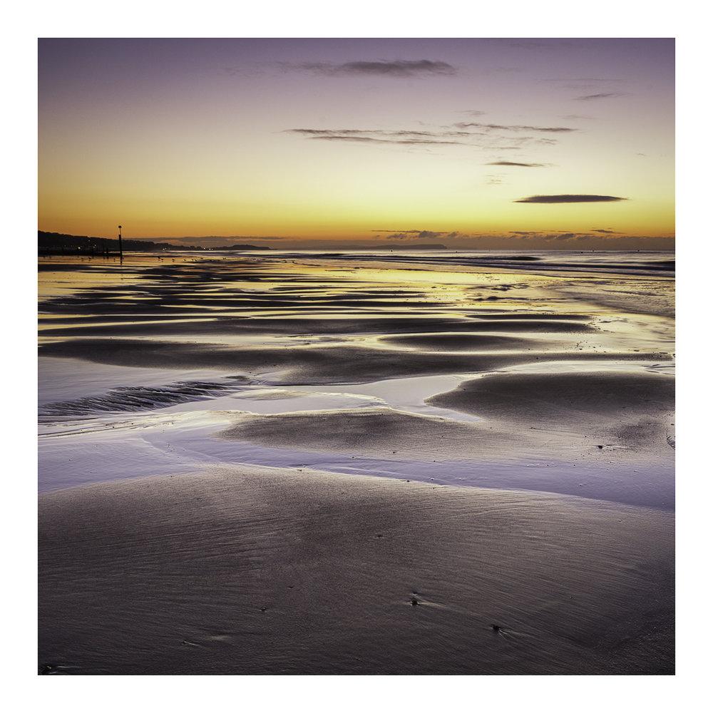 Boscombe Beach Sunrise