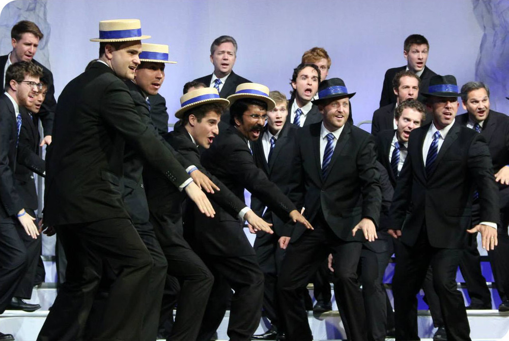 Voices of Gotham's performance at the Barbershop Harmony Society's International Chorus Competition in Toronto, Ontario, July 2013