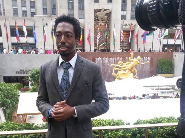 Kofi at Rockefeller Center