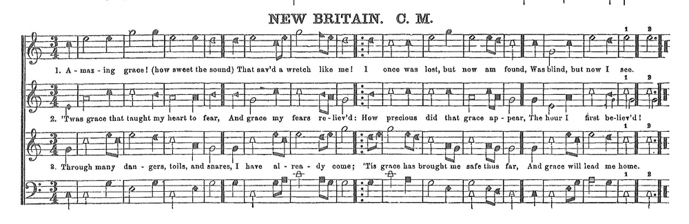 Shape notes are a system of notation in which different tones have different shapes. Shape notes became popular in the 19th century as a teaching method in singing schools. Two of the earliest manuals to include shape notes were The Easy Instructor (1801) by William Smith, and The Musical Primer (1803) by Andrew Law.