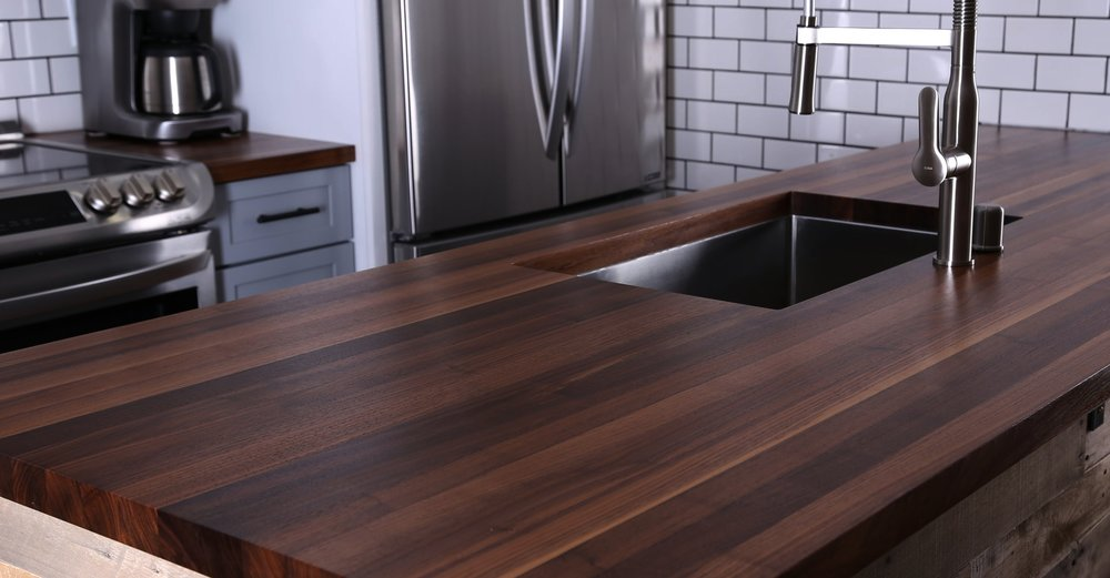 Charmant Walnut Countertop