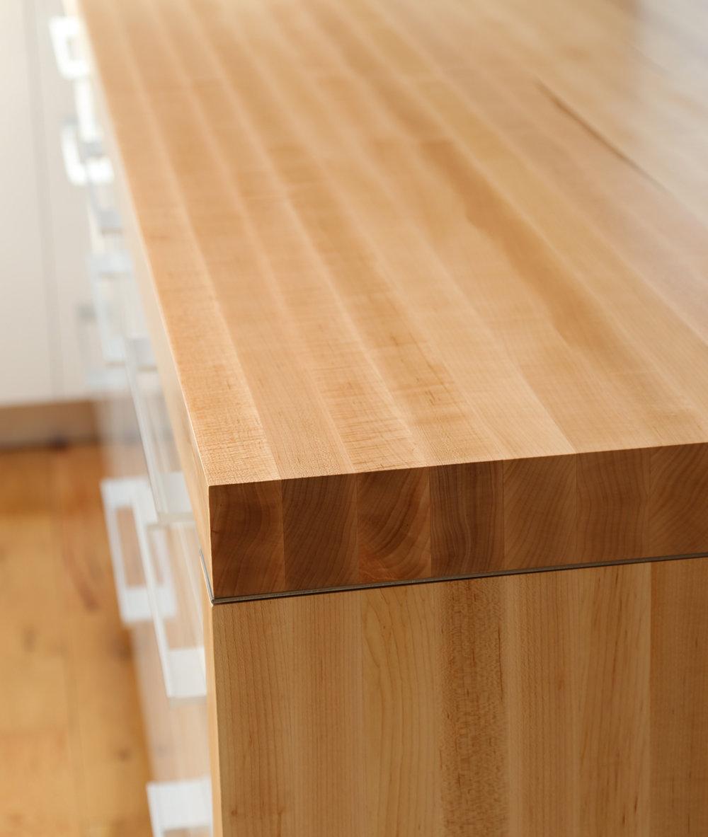 Hard Sugar Maple Countertop