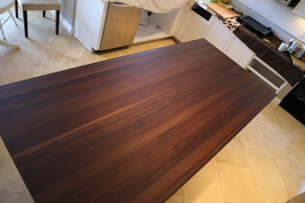 Black Walnut Edge Grain