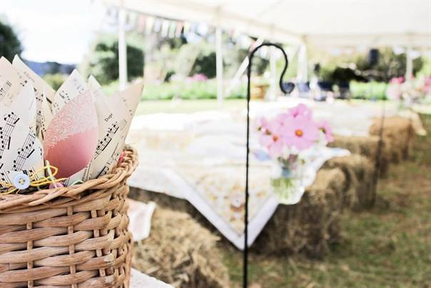 Props. - Whether it be a beautiful wooden archway for your ceremony or vintage wine barrels significant to the area, we have a lovely range of complimenting props to add to the overall set up. All free to use. You will even see our kissing booth around the place!