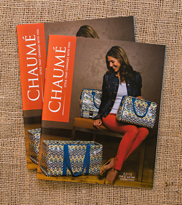 Chaumé 2013 Fall/Winter Collection Catalog // Front Cover