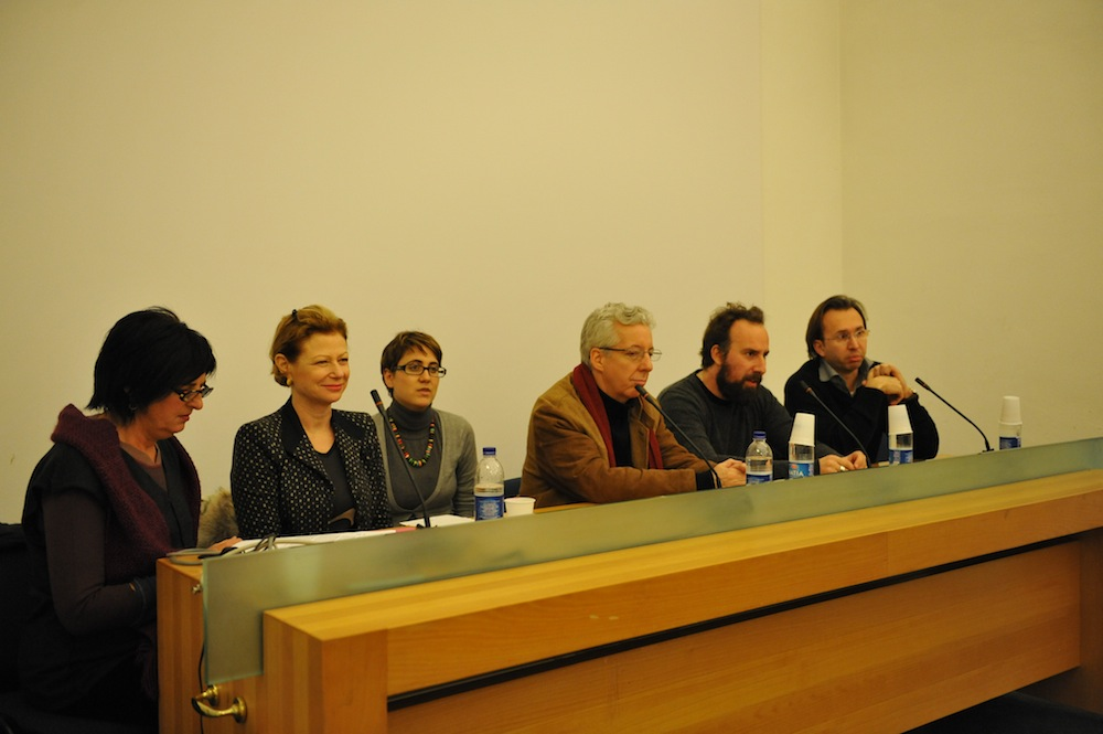 Panel discussion featuring Manuela Fugenzi, Nina Rosenblum, Daniel Allentuck and Pierpaolo Mittica- Strand + Rosenblum exhibition