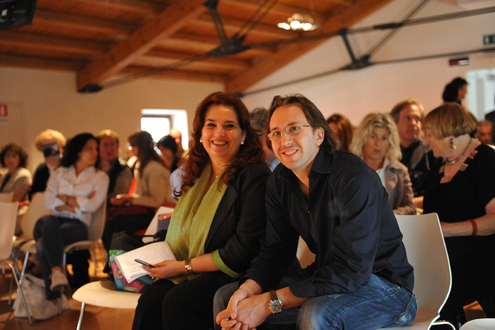 Enrica Vigano and Pierpaolo Mittica