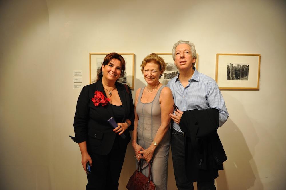 Enrica Vigano, Nina Rosenblum and Daniel Allentuck