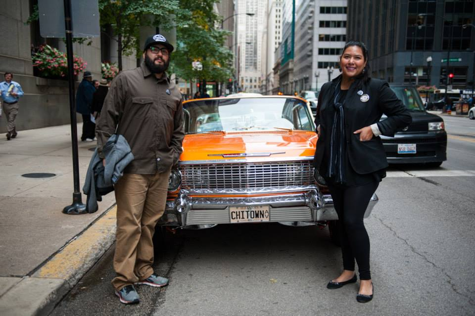 PETER KEPHA + LAUREN M. PACHECO CHICAGO URBAN ART SOCIETY  and LOWRIDER FEST  CO-FOUNDERS