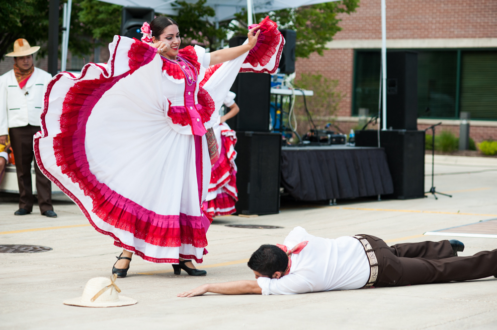 PERFORMANCE BY MEXICAN DANCE ENSEMBLE