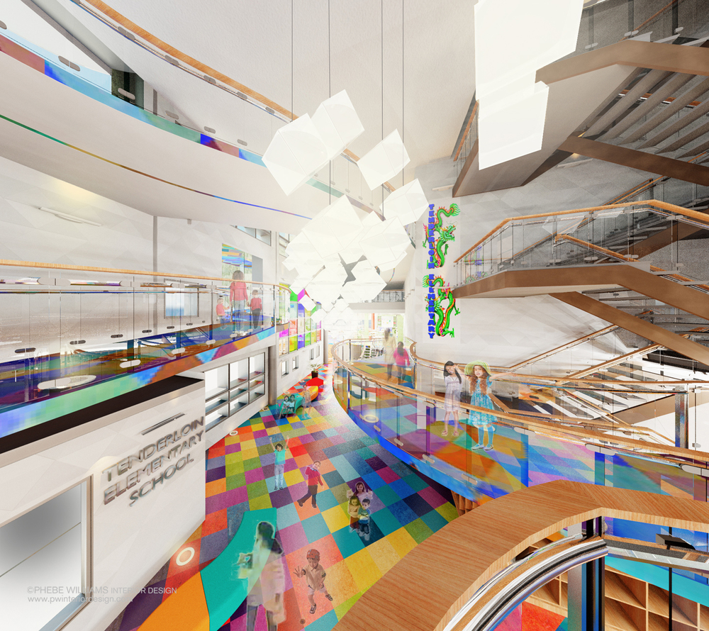 Community Elemetary School on Residential Interior Design
