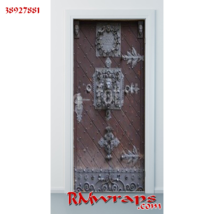 Medieval Front door in Prague 38927881