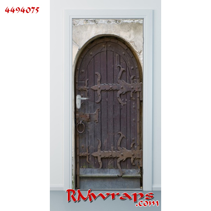Old wooden door 4494075