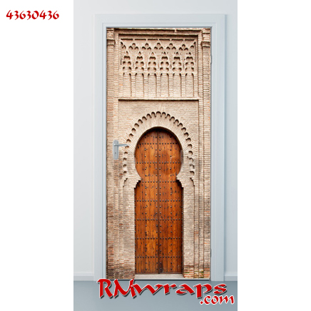 Old gate wooden door 43630436