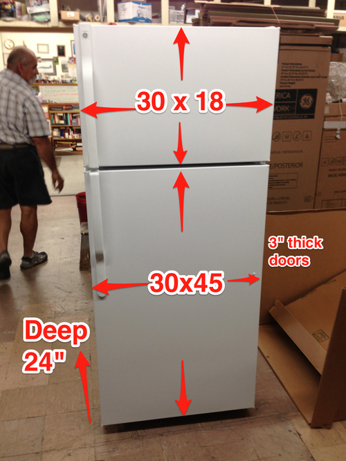 How to Measure yourrefrigerator