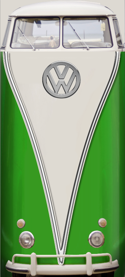 Vw Bus Lime Door wrap .png