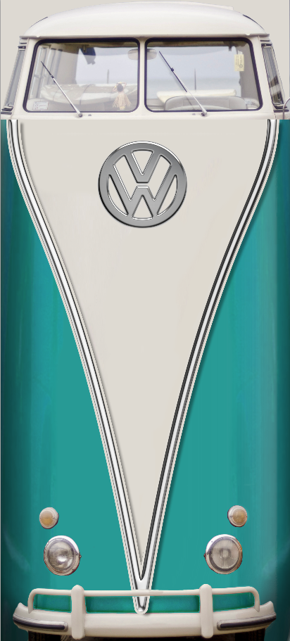 Vw Bus Aqua Door wrap .png