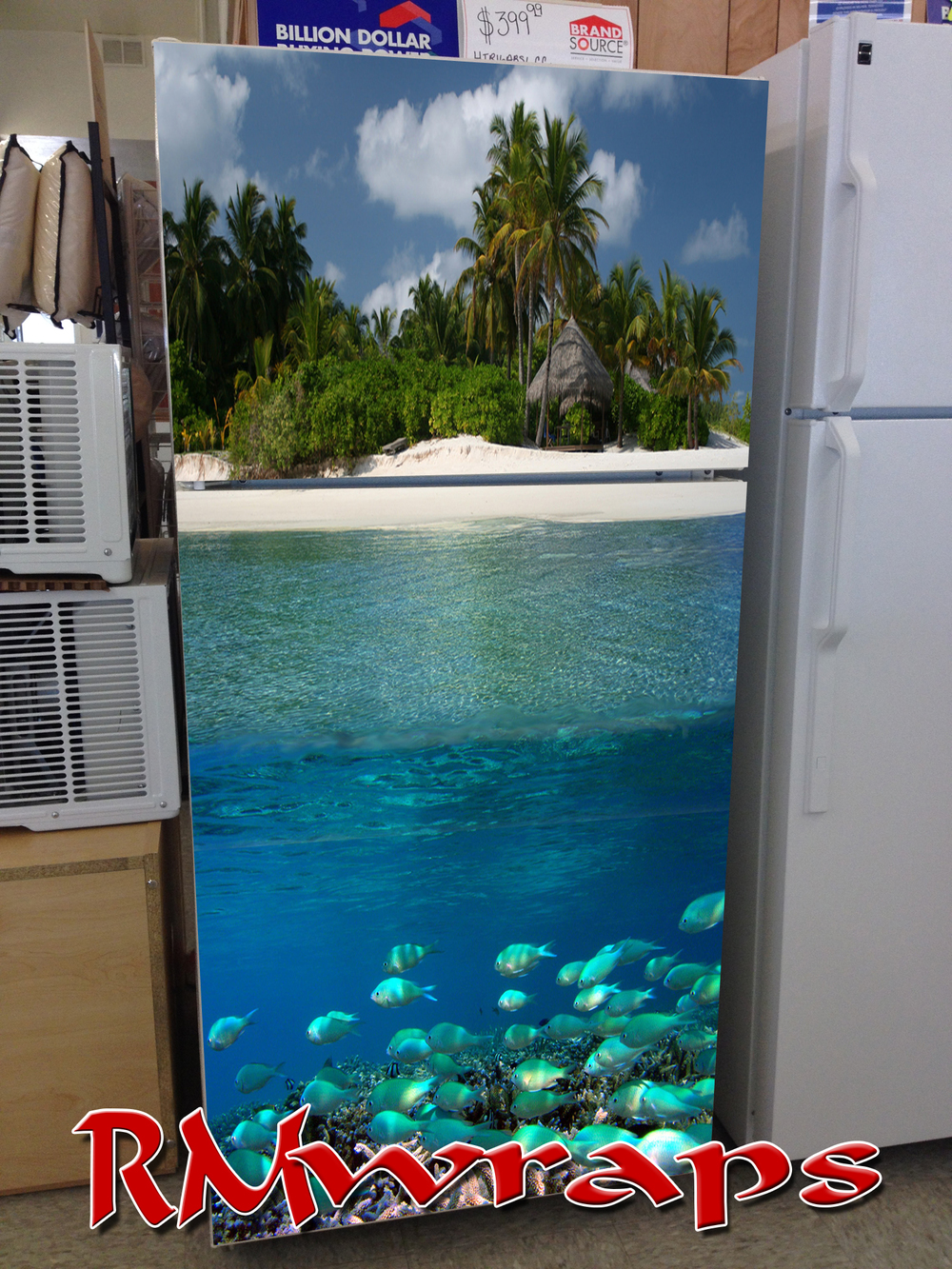 Sandy Beach Refrigerator wrap.jpg
