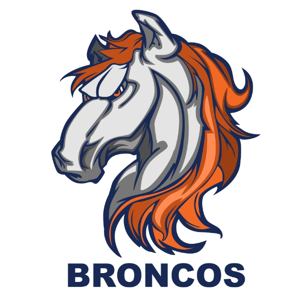 Redesign Bronco's logo