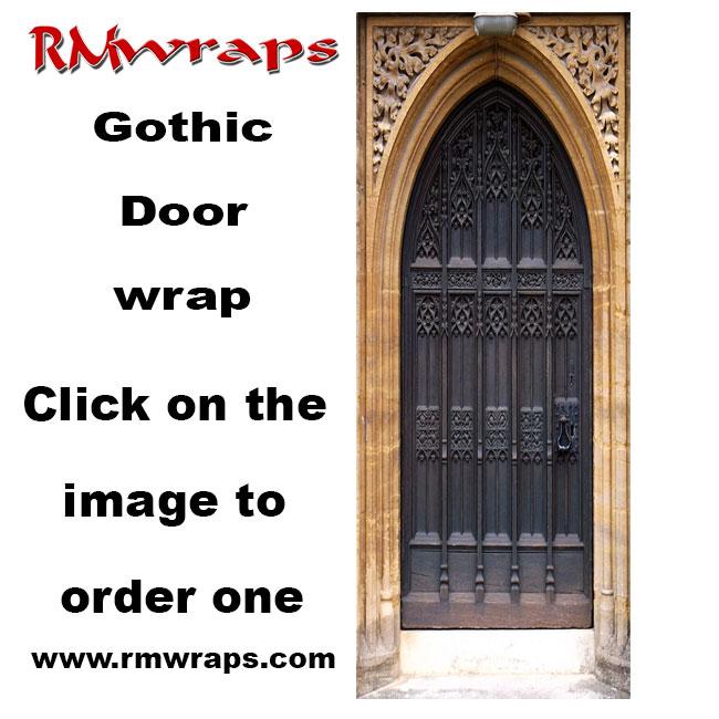 Gothic Door wrap  sc 1 st  Rm Wraps & Gothic Door wrap u2014 Rm Wraps pezcame.com