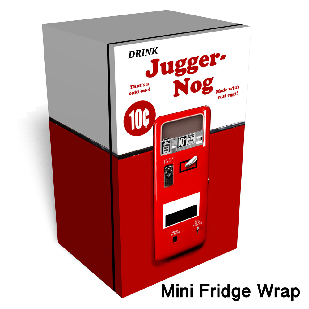 Juggernog Mini fridge wrap