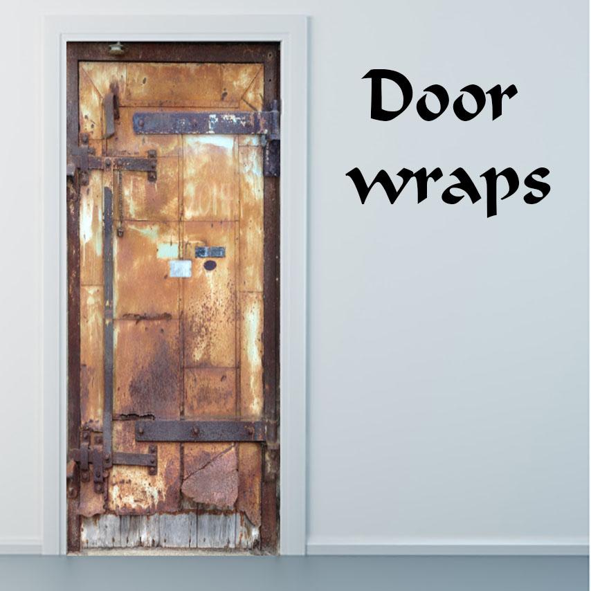 Mill City Metal door wrap & Mill City Metal door wrap u2014 Rm Wraps