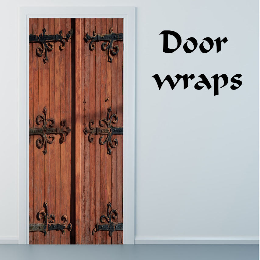 Castle Door 1 door wrap