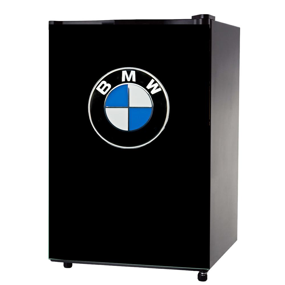 BMW logo mini fridge wrap sticker