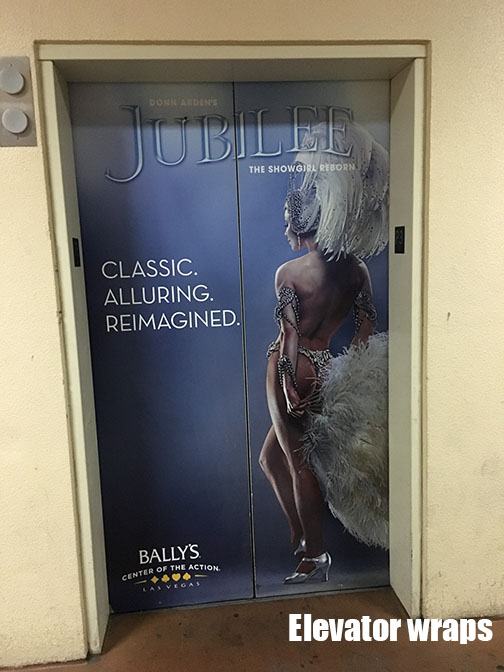 Elevator Door wrap Jubilee : door advertising - pezcame.com