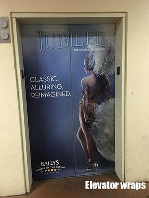 Elevator Door wrap Jubilee