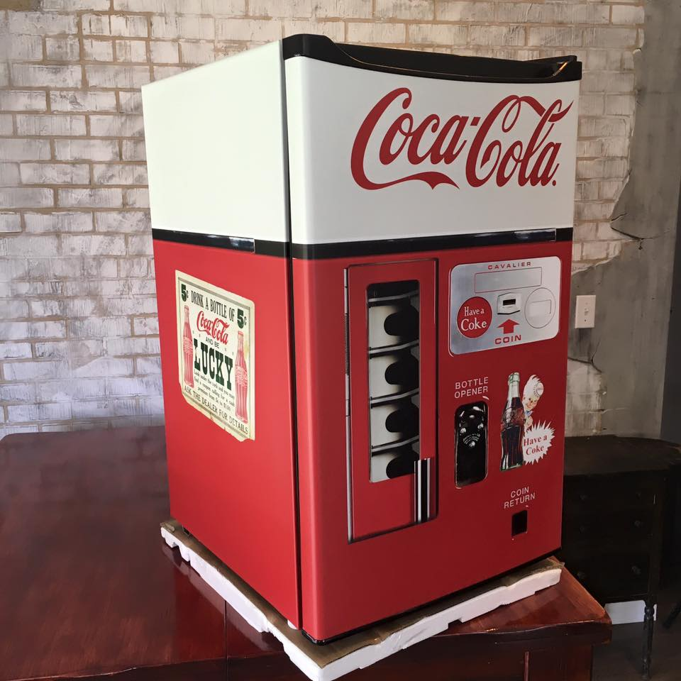 Coca Cola Vending Machine Mini fridge wrap