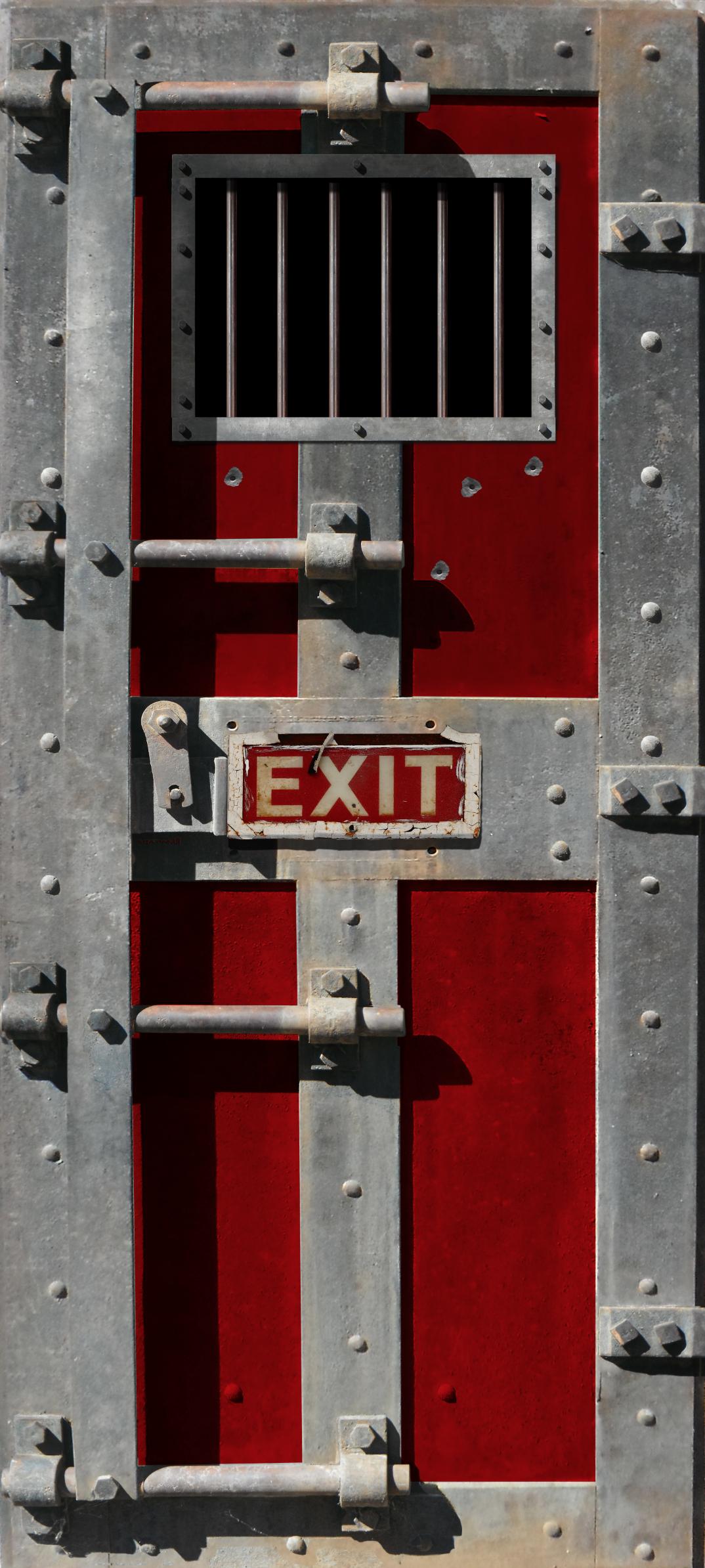 Jail Door Door Wrap & Jail Door Door Wrap u2014 Rm Wraps
