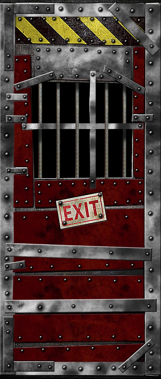 Jail Door 2 door wrap & Jail Door 2 door wrap u2014 Rm Wraps