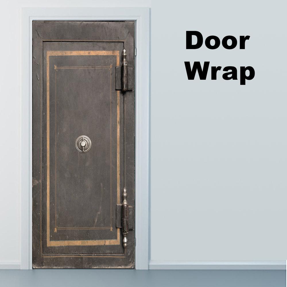 Vintage Safe Door Wrap Rm Wraps
