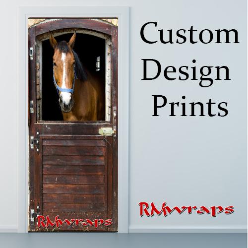 Horse Barn door wrap  sc 1 st  Rm Wraps & Door wrap store \u2014 Rm Wraps