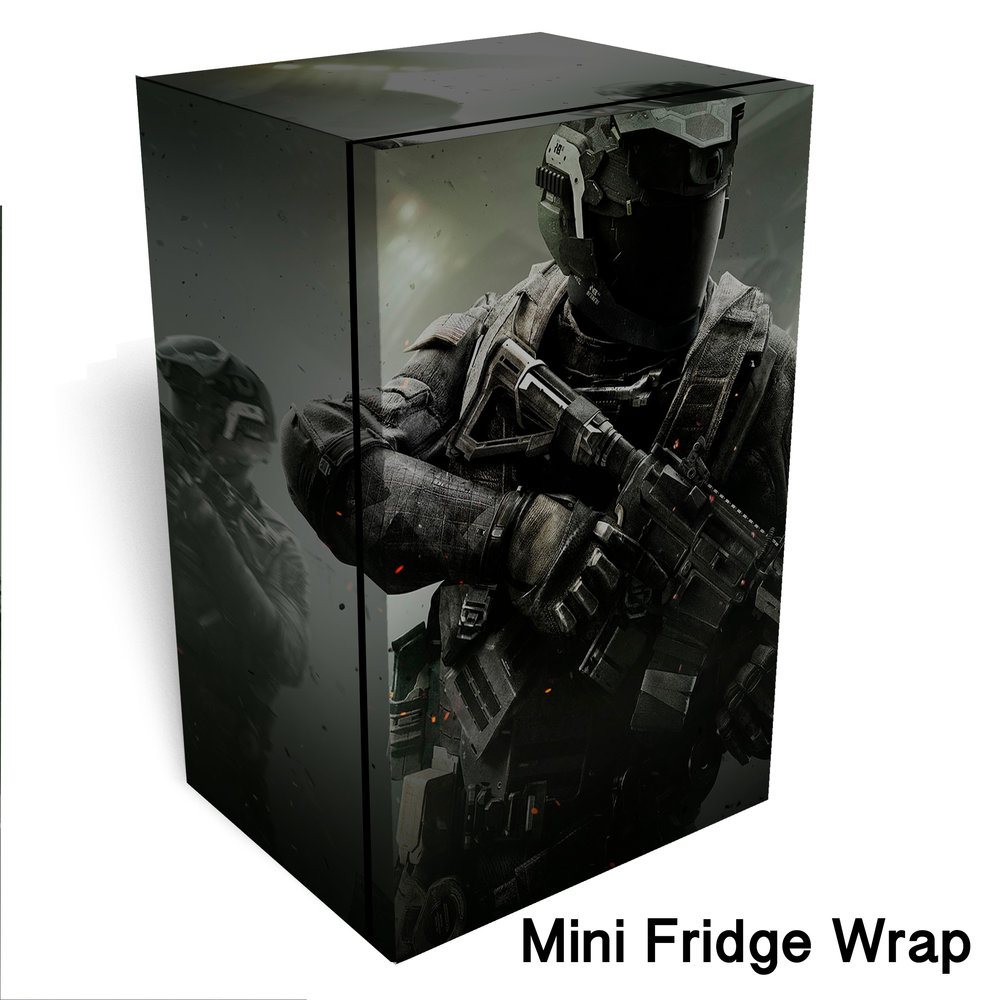 Call of Duty Infinite Warfare Mini Fridge Wrap 2