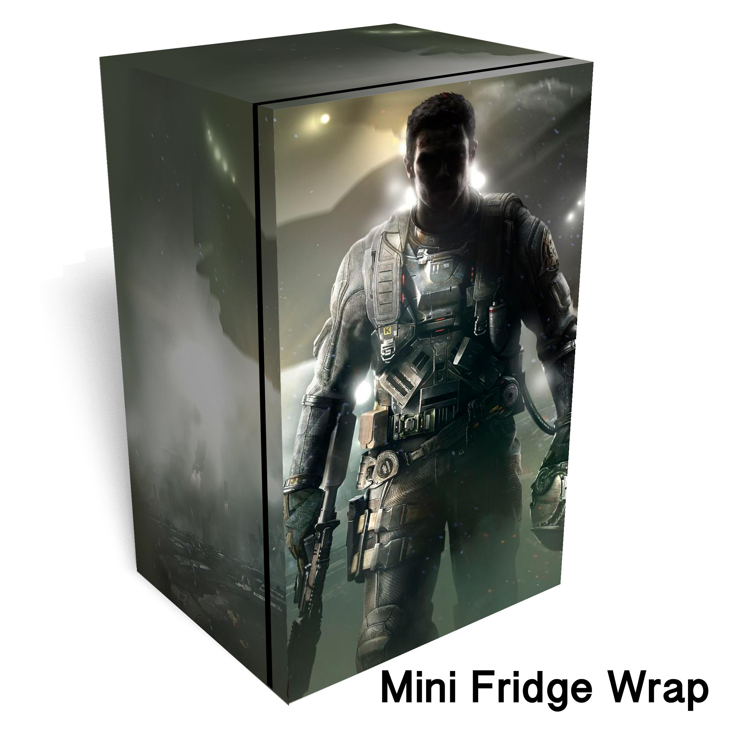Call Of Duty Infinite Warfare Mini Fridge Wrap 1