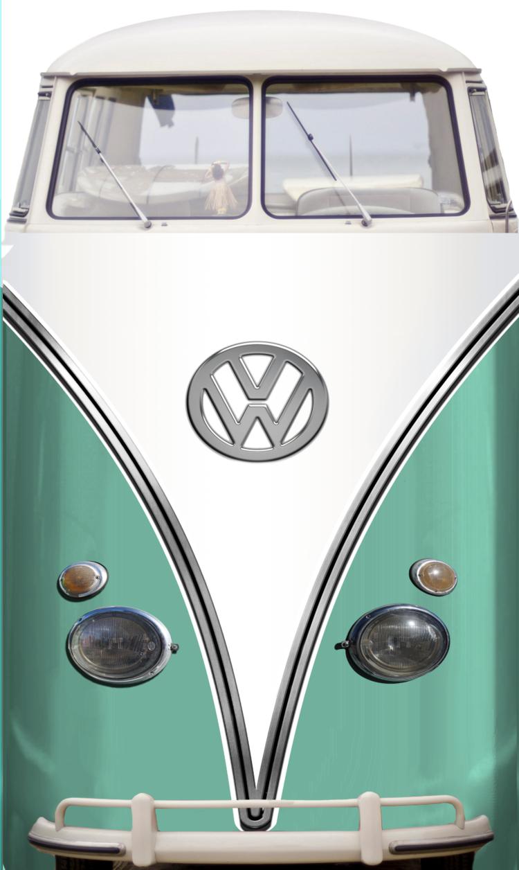 Vw Bus Mint Mini Fridge Skin — Rm Wraps