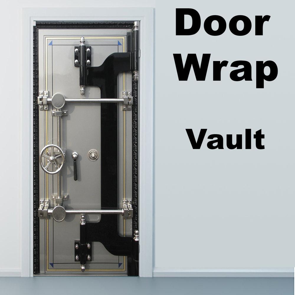 Vault Door wrap & Door wrap store \u2014 Rm Wraps Pezcame.Com