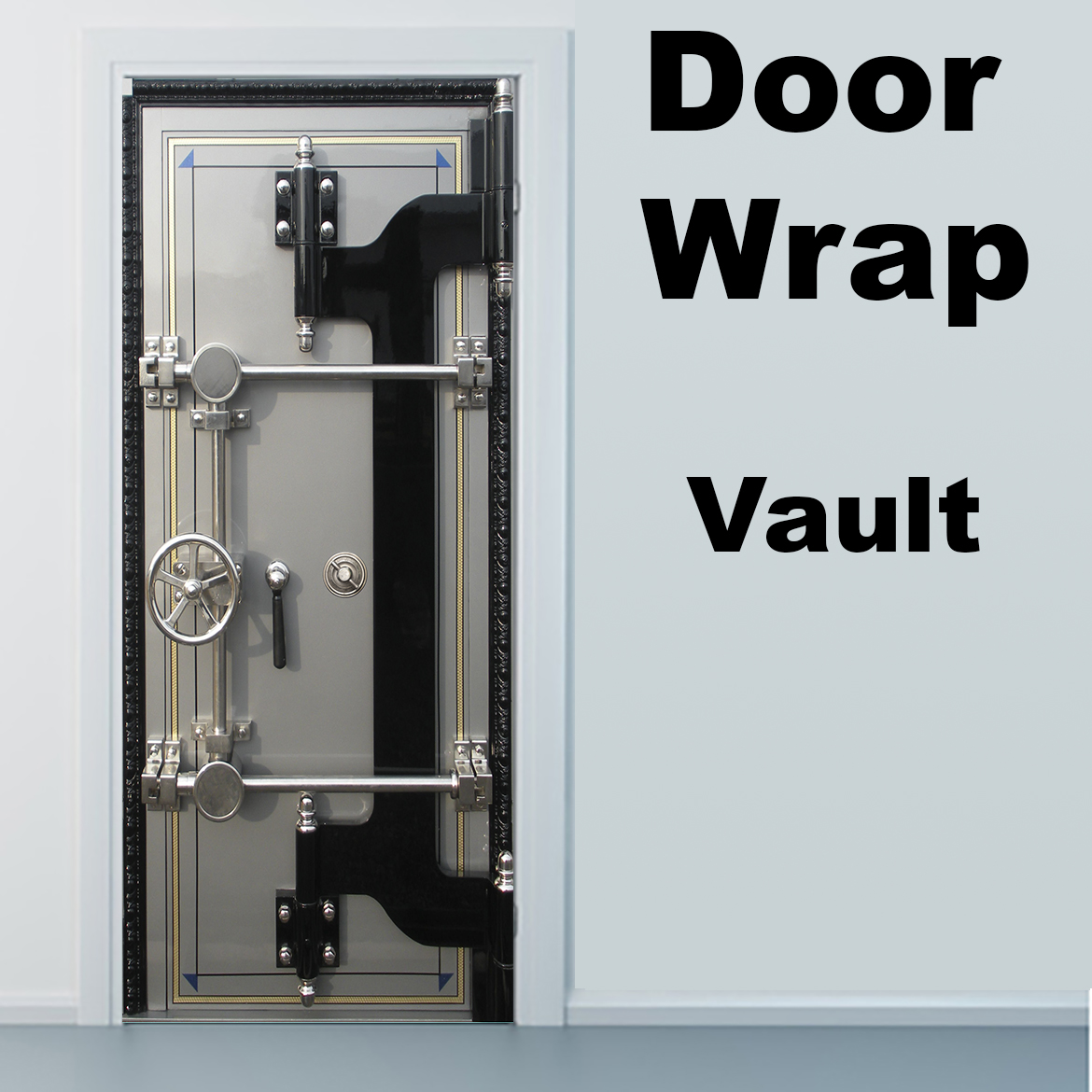 Copy Of Jail Door Door Wrap