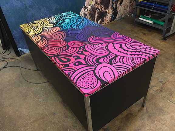 Table top wraps All colors 2