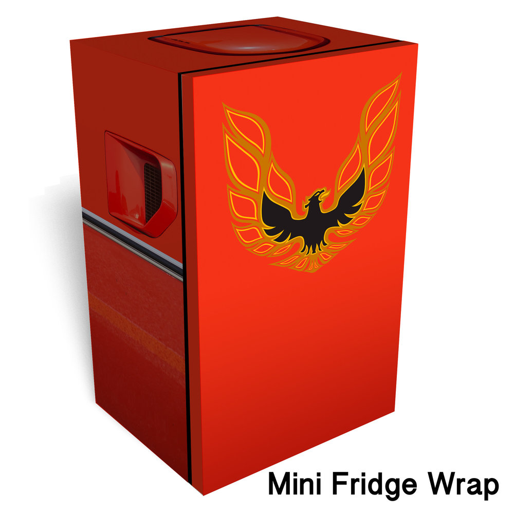 Firebird 1977 Mini Fridge Wrap