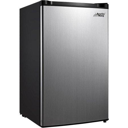 https://www.walmart.com/ip/Arctic-King-1-Door-Compact-Refrigerator-Stainless-Steel-Look-4.5-cu.-ft./49933742