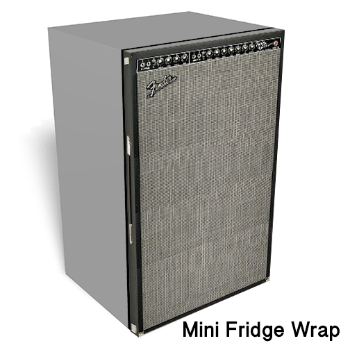 Fender Amp mini fridge skin